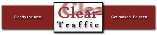 Search engine optimization from Clear Traffic. Get ranked. Be seen.